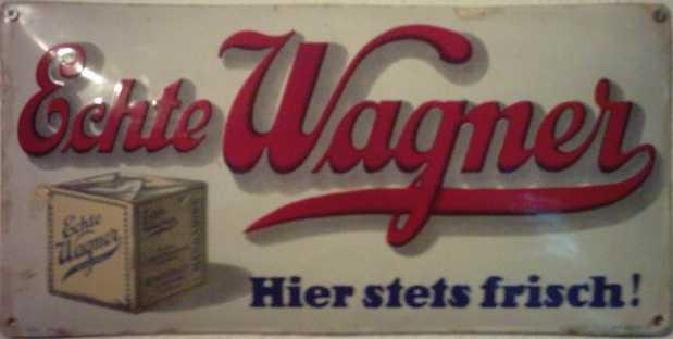 echte Wagner Margarine